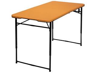 4ft Orange Tailgate Table, , large