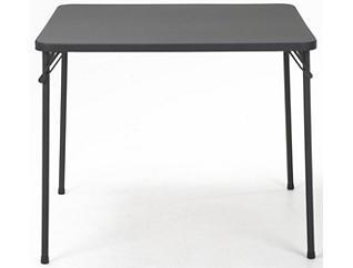 """34"""" Black Folding Table, , large"""