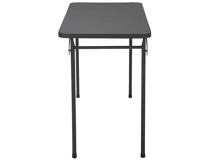 20 x 48 Black Folding Table, , large