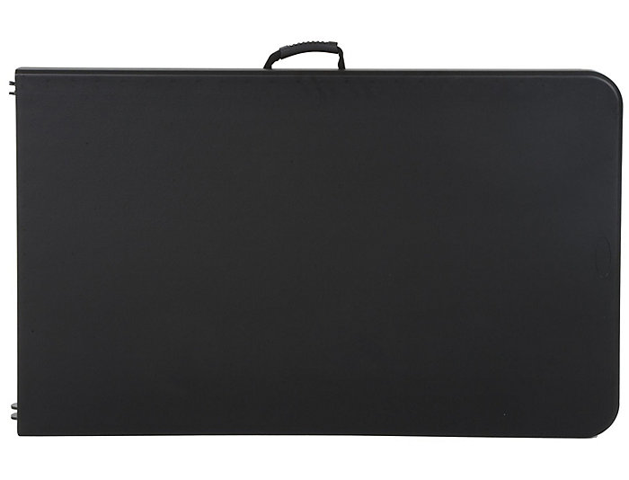 Deluxe Black Folding Table, , large