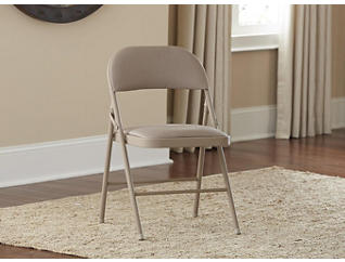 Folding Chair Linen Set of 4, , large