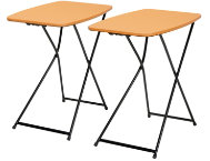 shop Orange-Tailgate-Table-Set-of-2