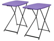 shop Purple-Tailgate-Table-Set-of-2