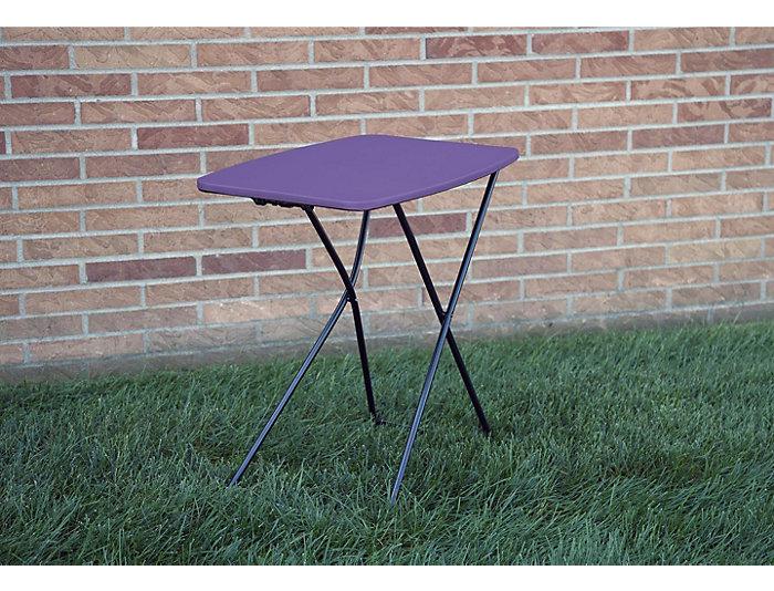 Purple Tailgate Table Set of 2, , large