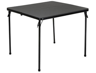 Black 3PC Table and 2 Chairs, , large