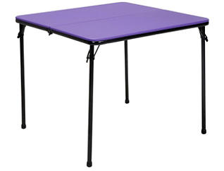 Purple 3PC Table and 2 Chairs, , large