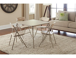 Linen 5PC Table and Chair Set, , large