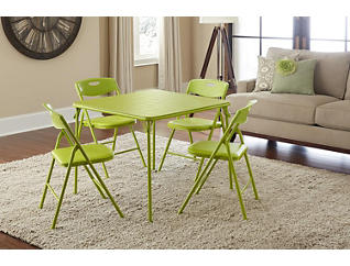 Green 5PC Table and Chair Set, , large
