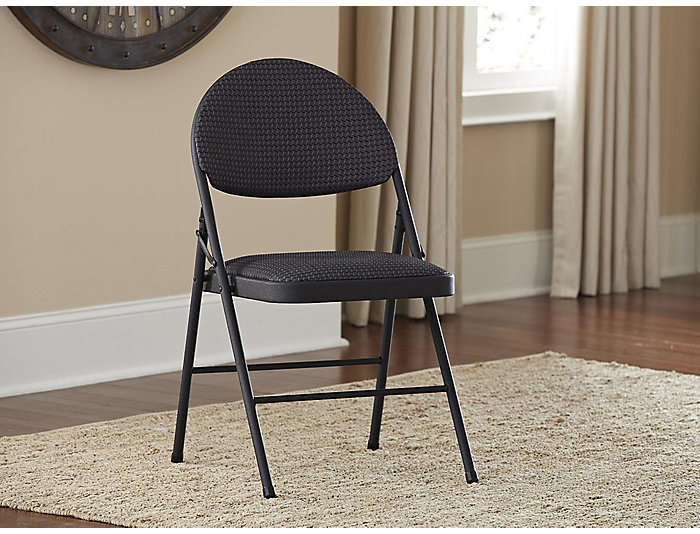 XL Black Chair Set of 4, , large