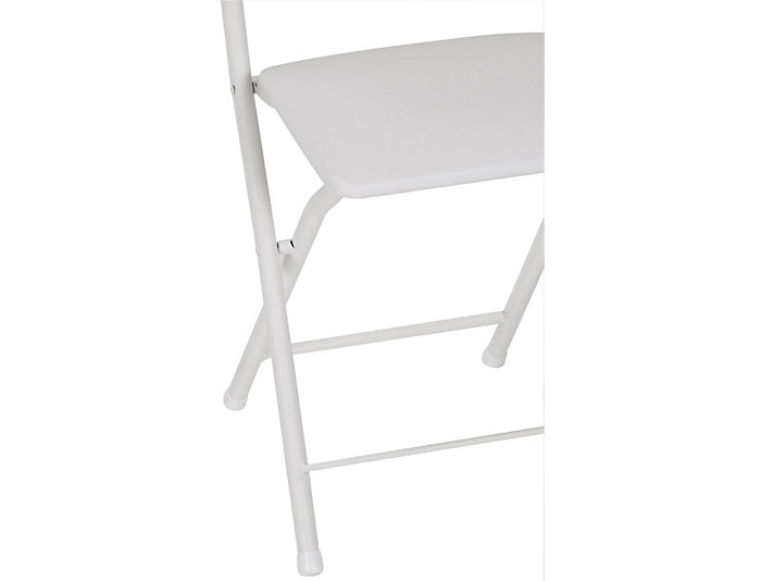 X White Folding Chair Set of 4, , large