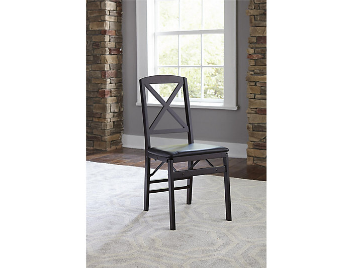 X Espresso Chair Set of 2, , large