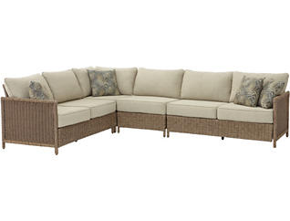 Shadbrook 4PC Sectional, , large