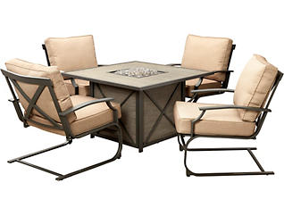 Sonoma 5PC Firepit Set, , large