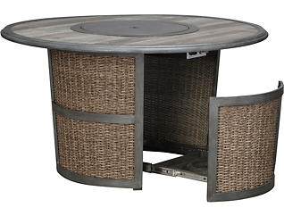 Homestead Round Gas Firepit, , large