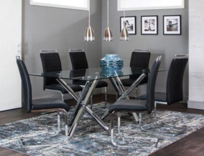 Mantis 7 pc Table set Formal Dining Dining Rooms Art Van
