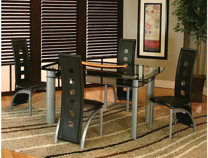 Valencia Glass Dining Table, , large