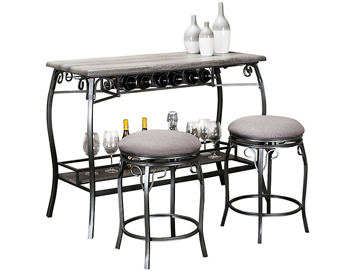 Phenomenal Sprite Oak Bar With Stools Outlet At Art Van Caraccident5 Cool Chair Designs And Ideas Caraccident5Info
