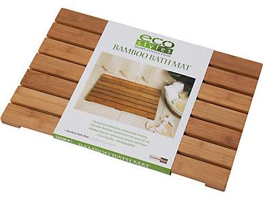 Eco Friendly Bamboo Bath Mat, , large