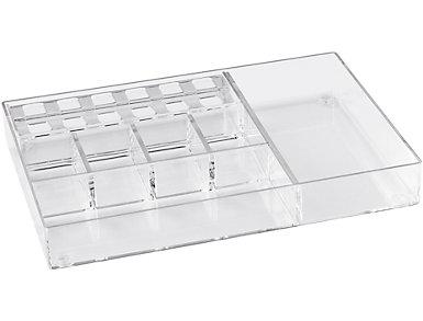 Large Organizer Clear Acrylic, , large