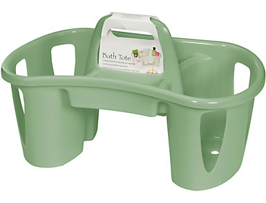 Bath Tote Caddy with Handle, , large