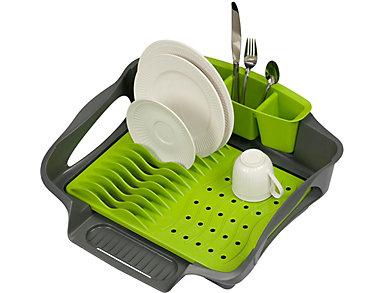 Large Self Draining Dish Rack, , large