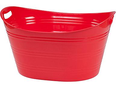 Multi Functional 6 Gal Red Tub, , large