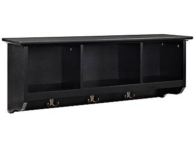 Liberty Black Storage Shelf, , large