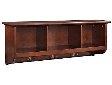 Liberty Brown Storage Shelf, , large