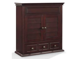 Clinton Brown Wall Cabinet, , large