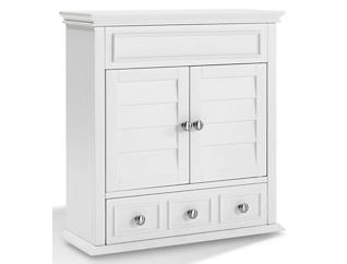 Clinton White Wall Cabinet, , large