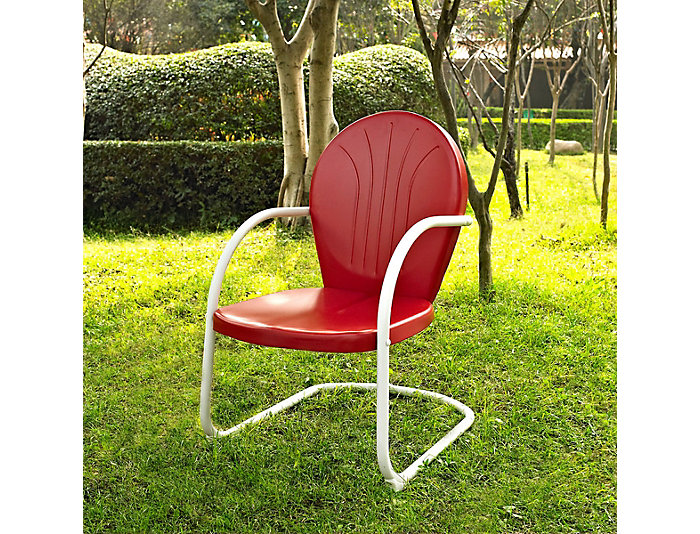Daisy Red Lounge Chair, , large