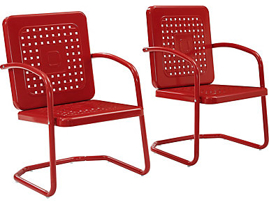 Bates Red Chair (Set of Two), , large