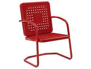 Bates Red Accent Chair, , large