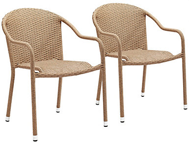 Brook Tan Chairs (Set of 2), , large