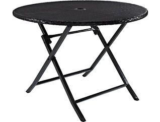 Brook Brown Folding Table, , large