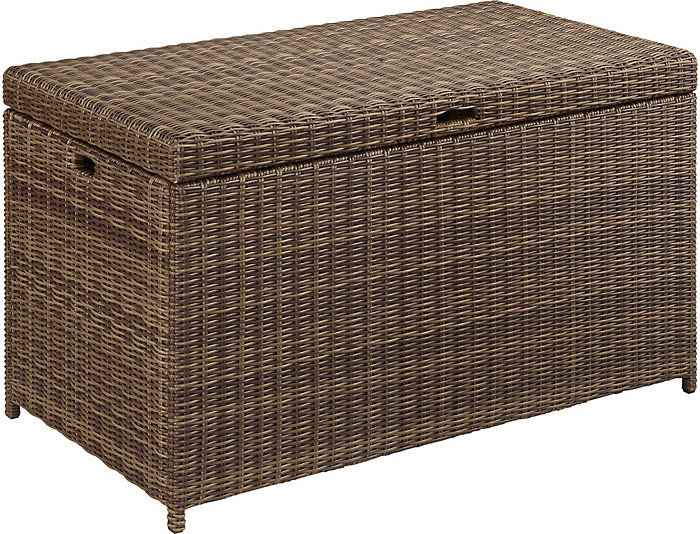 Bradenton Storage Ottoman, , large