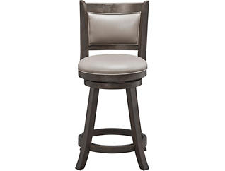 Cecil Swivel Pub Stool, , large