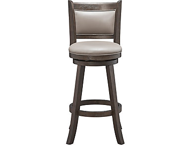 Cecil Swivel Barstool, , large