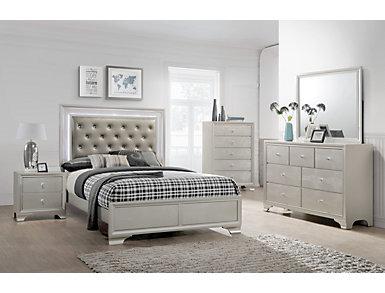 Lyssa 4 Piece Queen Bedroom Set, , large