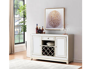 Razzle Dazzle Mirrored Wine Cabinet, , large