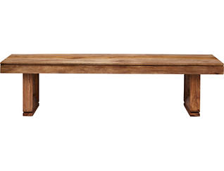 Brownstone Chestnut Dining Bench, , large