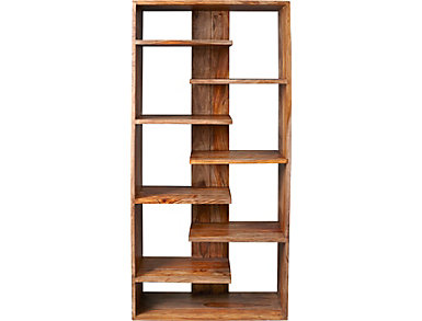 Brownstone Shelving Unit, , large