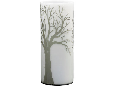 Oak Valley Etched Glass Vase, , large