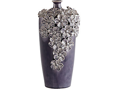 Daisy Ceramic Vase, , large