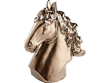 Mane Event Ceramic Horse Sculpture, , large