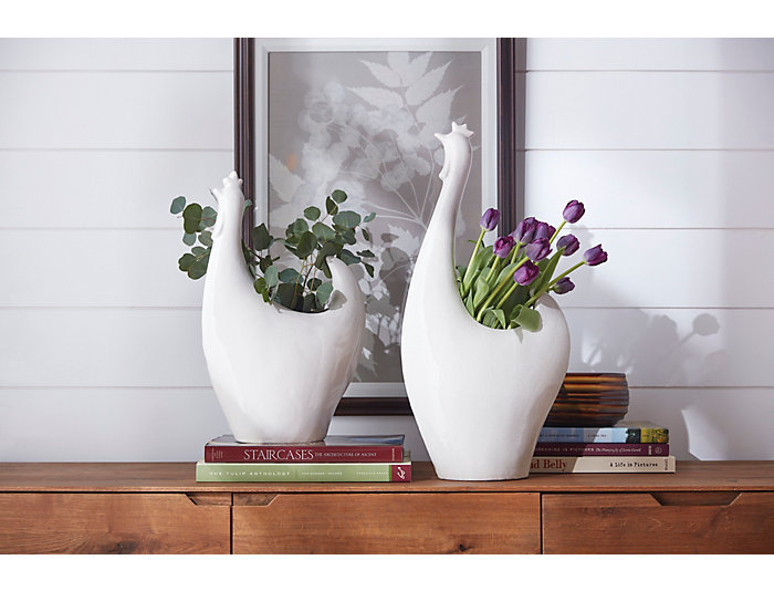 Rule the Roose Ceramic Planter, , large