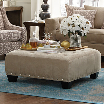 Cindy Crawford Home Ottomans