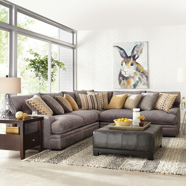 Superbe Sofas. Cindy Crawford Home Sectionals