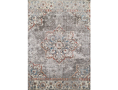 Alexa 4 Pewter 5'3x7'7 Rug, , large