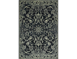 Beckham Tan/Black 4'11X7'5 Rug, , large